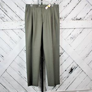 John Henry Men's Pleated Dress Pants Size 36x32